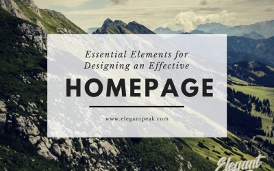 Designing an Effective Homepage Without the Guessing Game