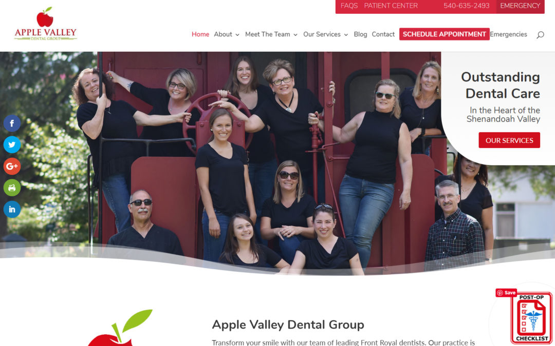 Helping Front Royal Businesses Succeed Through Digital Marketing- Apple Valley Dental Group